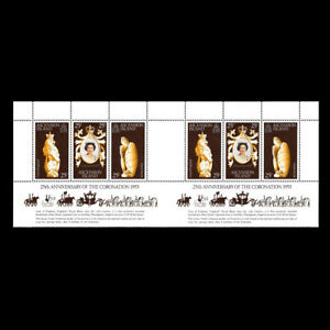 Ascension Is, Sc #229T, MNH, 1978, S/S, Royalty, Elizabeth II anniversary, NBA-7