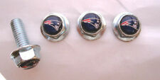 New England Patriots License Plates Screws, NE Patriots Logo Plate Screws, NFL