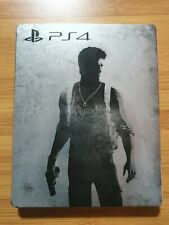 Uncharted : The Nathan Drake Collection Steelbook Case PS4 (NO GAME)
