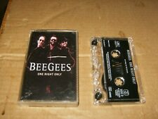 Bee Gees One Night Only Cassette,Used,Canada.