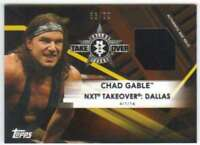 2017 Topps WWE NXT Wrestling Bronze Mat Relic /99 #MR-CG Chad Gable