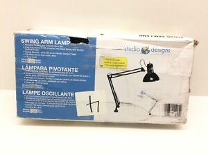 Studio Designs 12024 Swing Arm Lamp White
