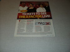 G077 THE X FACTOR LIVE  '2007 CLIPPING
