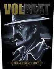 Volbeat-schiena ricamate Back Patch Outlaw Gentlemen