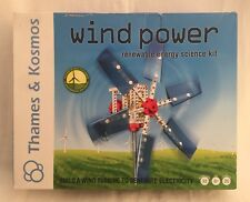 Thames & Kosmos WIND POWER Alternative Energy & Environmental Science New open