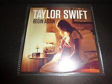 TAYLOR SWIFT Begin Again PROMO CD SINGLE Original Version UNIVERSAL ARGENTINA