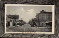 North Branch MN Main St. c1910 Postcard