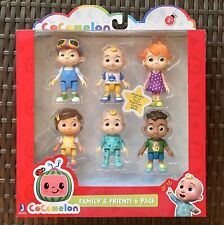 Cocomelon Family & Friend 6 Pack Figure Play Set Toy You Tube New IN HAND