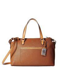 New ListingLAUREN RALPH LAUREN - LINDLEY - ADDIE - Satchel Handbag Purse -  Brown 3e131f7ee3420