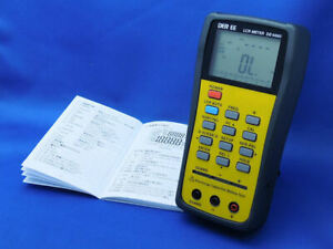 DER EE High Accuracy Handheld LCR Meter DE-5000 Only from Japan New