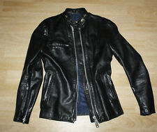 Vintage Brimaco Leather Jacket Cafe Racer Womens xs/s