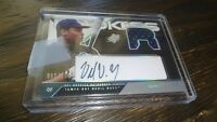 2003 SPx ROOKIES DELMON YOUNG #65/355 G.U./  Autographed baseball card