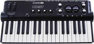 LINE 6 KB37 POD STUDIO MIDI KEYBOARD & USB AUDIO INTERFACE BUS POWERED UX2 1