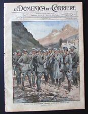 1915 Carso prigionieri austriaci ALPINI VOLONTARI CICLISTI DOSSO CASINA REMIT