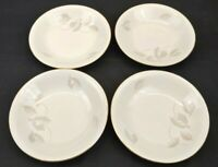 Winterling Bavaria Germany China Salad Soup Bowl Lot of 4 Autumn Leaf Gold Rim