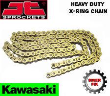 Kawasaki GPZ900 R A1-A3 (ZX) Ninja 84-86 GOLD UPRATED X-RING Heavy Duty Chain