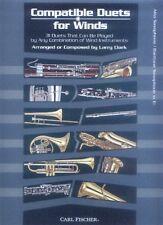 Compatible Duets for Winds Alt-Saxofon Bariton-Saxofon Noten