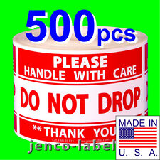 ML35123, 500 3x5 Do Not Drop, Please Handle With Care