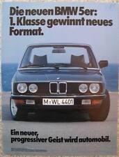 """BMW 5er E28 1981 Die neuen BMW 5er """"1. Klasse ..."""""""