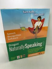 Dragon Naturally Speaking 9 Speech Recognition Software Nuance - New & Sealed