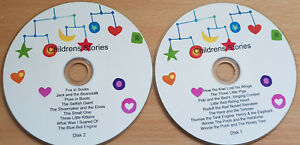 18 Children Stories - 2 CD SET Classic Children's Story Audio books  disk 1 & 2