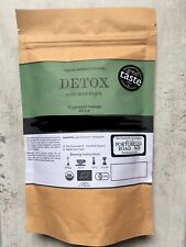 BIO DETOX Herbal Tea Infusion, Moringa, Sachets de Thé Tisane Fairtrade Bio Thé ...