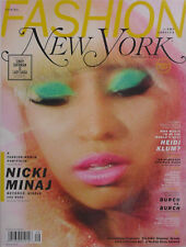 NICKI MINAL 2012 NEW YORK Magazine CINDY SHERMAN IS LADY GAGA / NEXT HEIDI KLUM