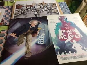 Doctor Who The Alternative poster and press cuttings set. Very rare 30 items