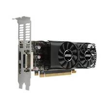 MSI NVIDIA GeForce GTX 1050 TI 4GB GDDR5 DVI/HDMI/DisplayPort Low Profile pci-e