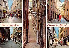 B67285 Sweden Stockholm Gam la Sta'n multiviews