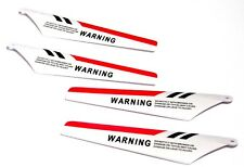 Red Syma Helicopter Blades A+B Component for S107G-02 FTS - UK Seller