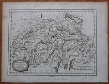 Blomfield: Map of Switzerland - 1807