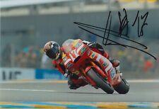 Alberto Moncayo Hand Signed 7x5 Photo - MotoGP Autograph 2.
