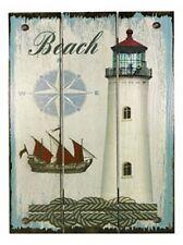 Wandbild Maritime Motive- Holz- Shabby- Beach