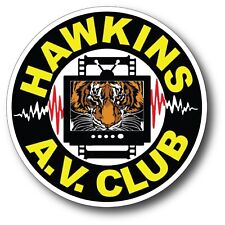 Stranger Things Hawkins AV Club Funny Sticker Decal 3.5""