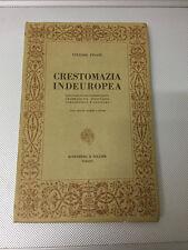 LIBRO CRESTOMAZIA INDEUROPEA TESTI SCELTI VITTORE PISANI ROSENBERG SELLIER 1974
