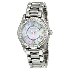 Ebel X-1 Silver Diamond Dial Stainless Steel Ladies Watch 1216110
