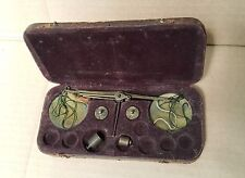 Antique 18th Century Brass Scale Engraved Box