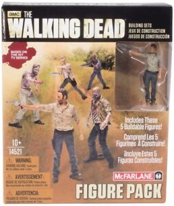 THE WALKING DEAD Toys Building Sets TV Figure Pack 1 by McFarlane (10+)