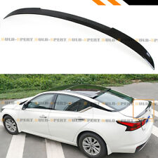 FOR 2019-2020 NISSAN ALTIMA JDM V STYLE PAINTED GLOSSY BLACK TRUNK LID SPOILER