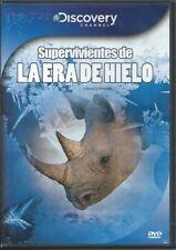 DISOVERY SUPERVIVIENTES DE LA HERA DE HIELO DVD NEW