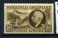 Albania 1939 Sass. 4 Nuovo ** 80% Posta Aerea Vittorio Emanuele III.