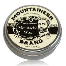 Mountaineer Brand 100% Natural: Moustache (Mustache) Wax 2 Oz.