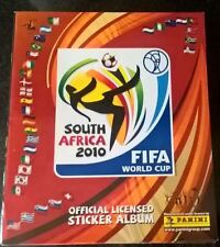 PANINI SOUTH AFRICA WORLD CUP 2010 - 10 X EMPTY STICKER ALBUMS