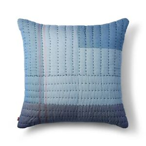 """Levi's x Target - Blue 24""""x24"""" Quilted Patchwork Oversized Pillow"""