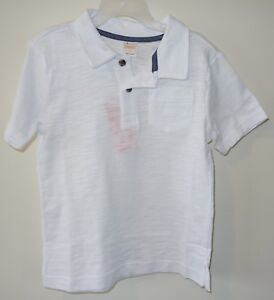 NWT Gymboree Island Hopper White Collared Shirt Boy's Size 5