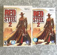 Red Steel 2 Nintendo Wii Complete w/ Manual TESTED Fast Ship! Sword Ubisoft