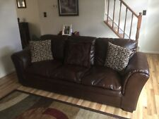 Slightly Used - Excellent Condition - Dark Brown Living Room Sofa