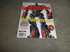 TRANSFORMERS-Entertainment Weekly Magazine-When Robots Attack -Mint Copy-2007
