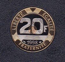 20 FRANCS MONT SAINT MICHEL 1998 DU COFFRET BE